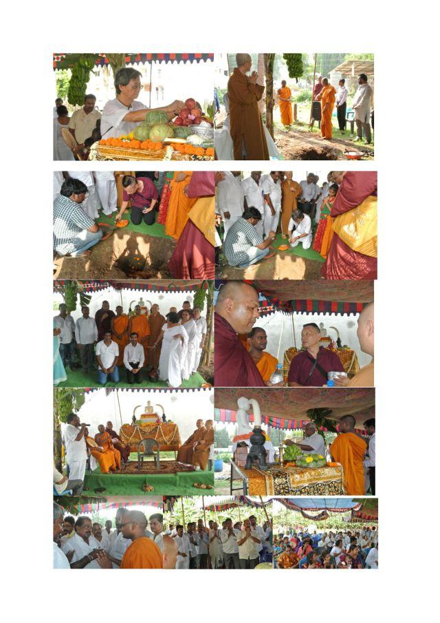 Snapshots of Foundation Ceremony at Andhra Pradesh on May 24th 2014.