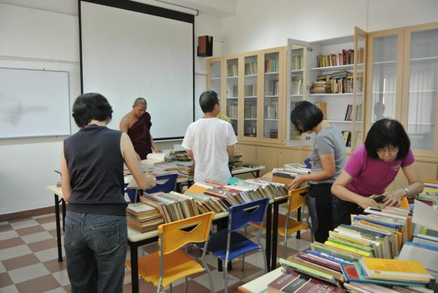 Sorting out books for reclassification and …