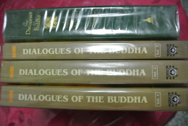 Digha Nikaya in 3 separate volumes by PTS and single volume by Wisdom Publications divided into 3 divisions