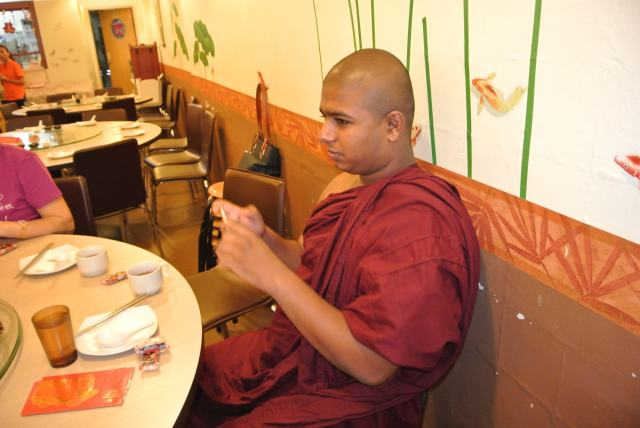 Our overseas guest from Sri Lanka, Bhante Suneethe and …
