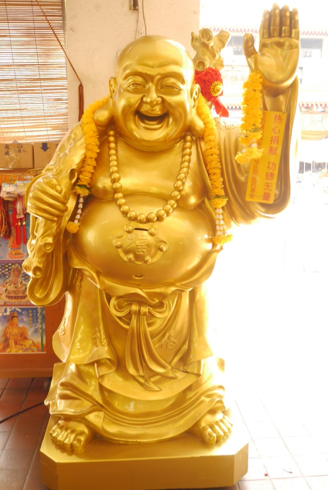 A popular image of Metteyya Buddha.