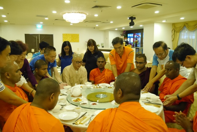 """Proper time for bhikkhus to eat is between dawn and noon""."