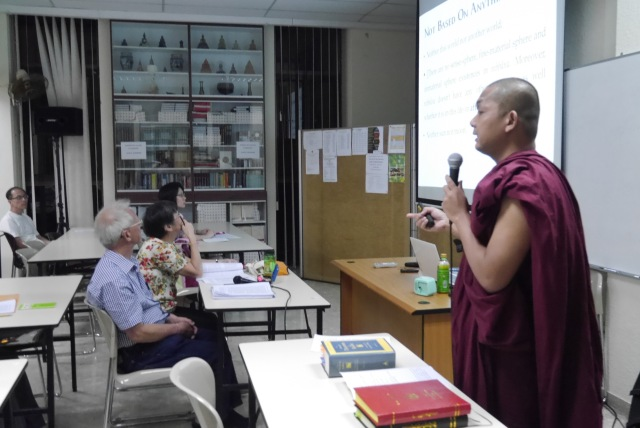 Bhante Cakkapala elucidates a moot point.