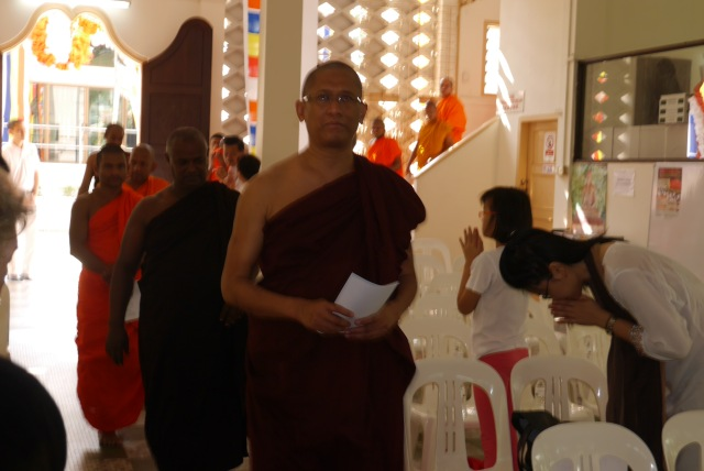 The occasion was graced by Venerable U Cittara and ... ...
