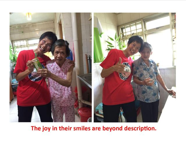 Joy of smiles
