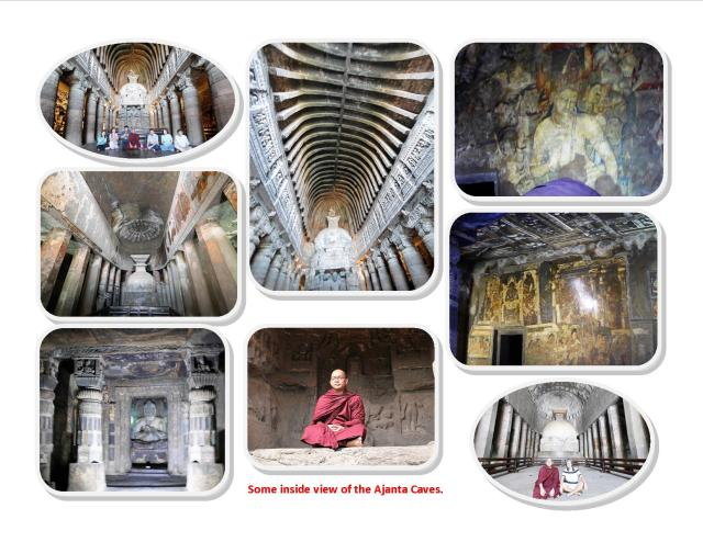 Ajanta Cave Interior